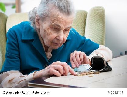 Ohne Altersvorsorge, wartet Altersarmut