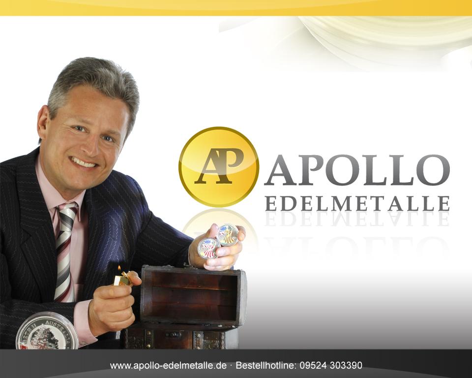 Horst Weber, Gründer und Geschäftsführer der Apollo Edelmetalle