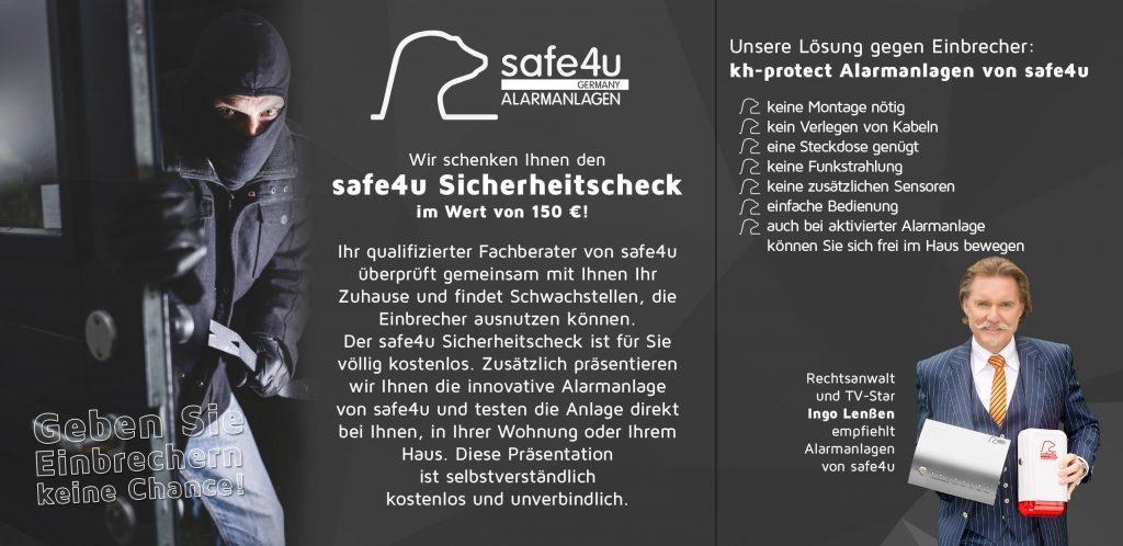 Safe4u-Sicherheitscheck