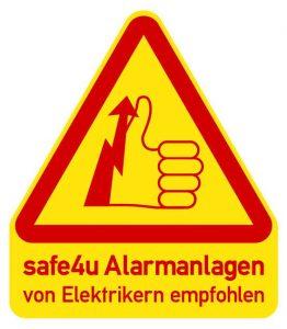 Safe4u, Alarmanlagen, Einbruchschutz, Haussicherheit